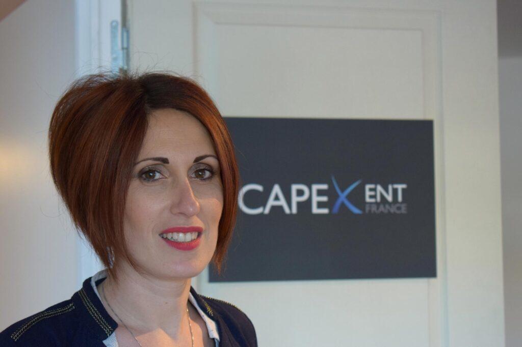 Estelle Bouchs gérante de la société Capex'Ent France