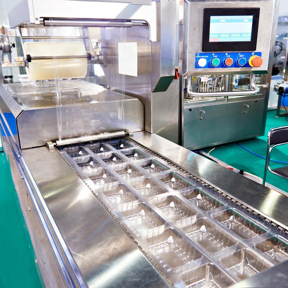 Une machine de production agroalimentaire